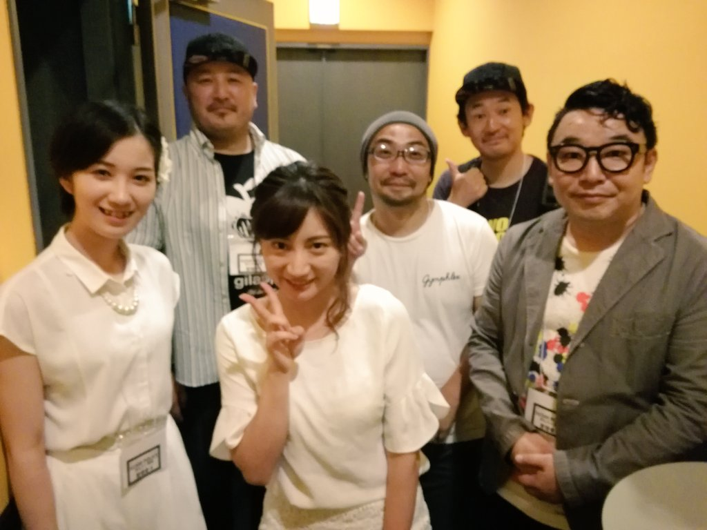 『SUSHI  POLICE めんたい風味』の上映挨拶のMCをしました✨木綿監督、ホンダ役の山下さん、カワサキ役の岡本さ