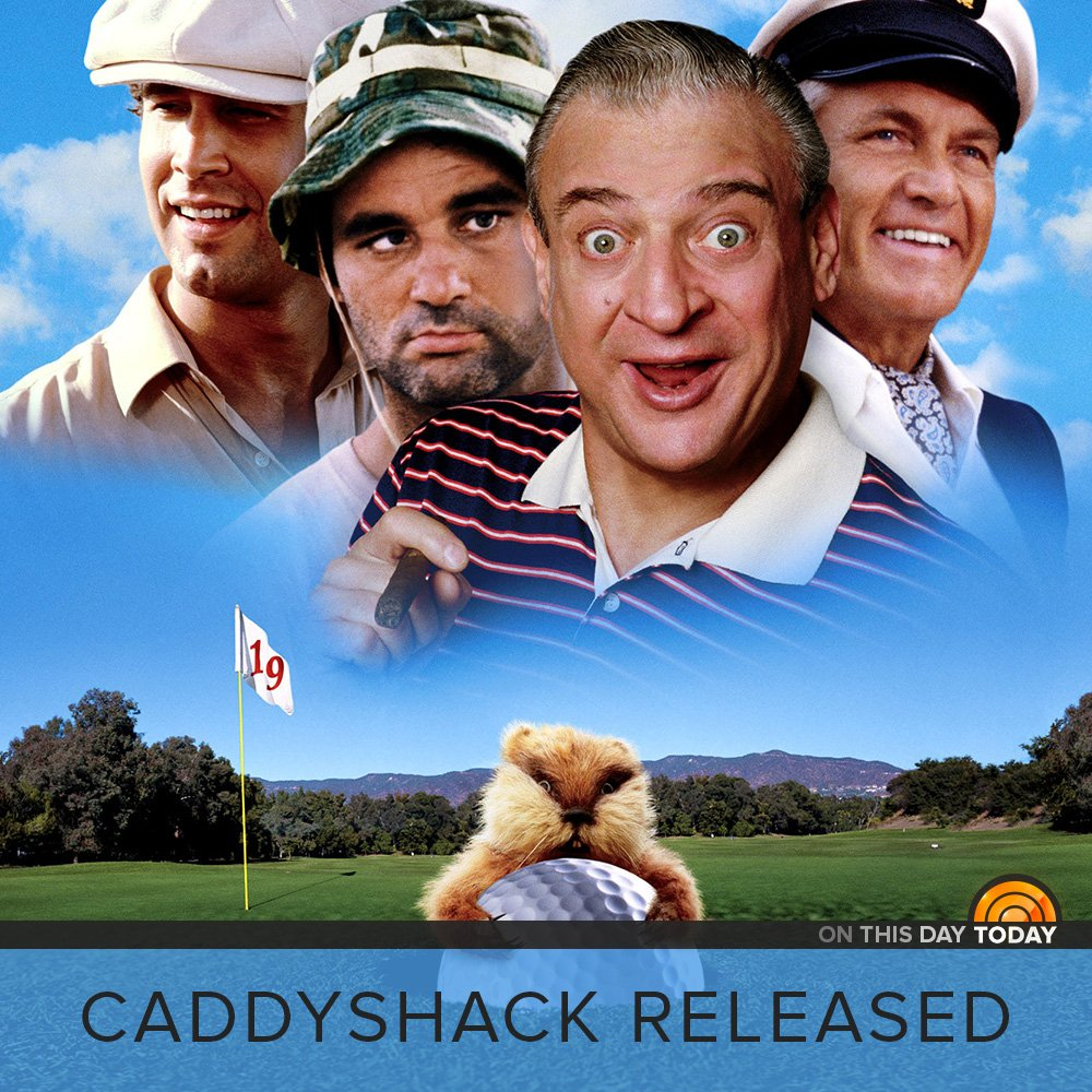 Caddyshack was released on this day 37 years ago!