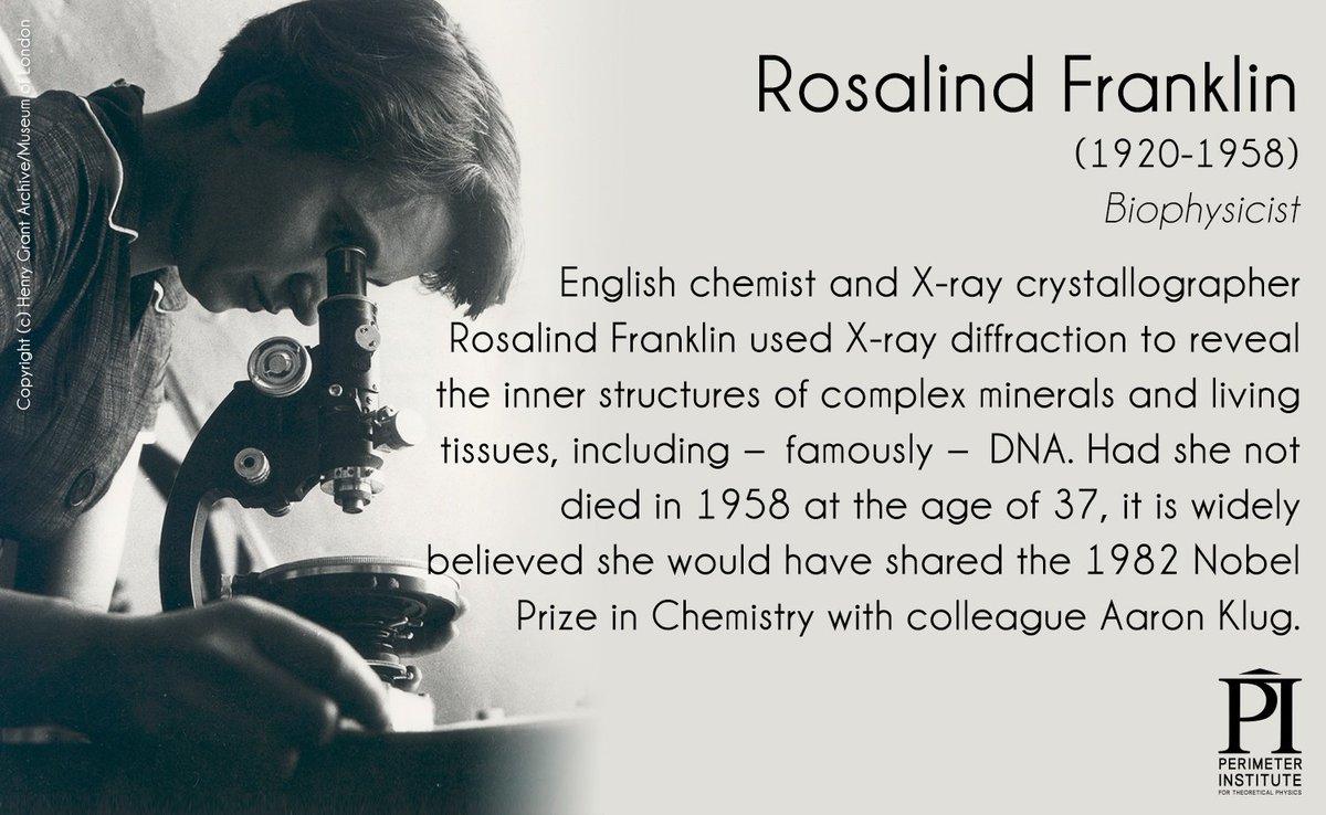 rosalind franklin biography essay