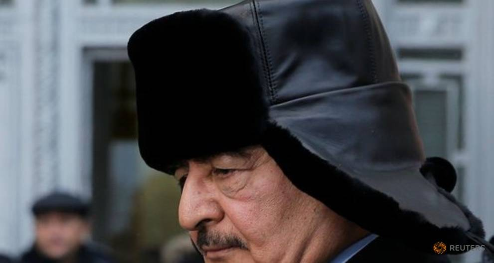 Libya's PM, eastern commander set to commit to ceasefire, election - draft