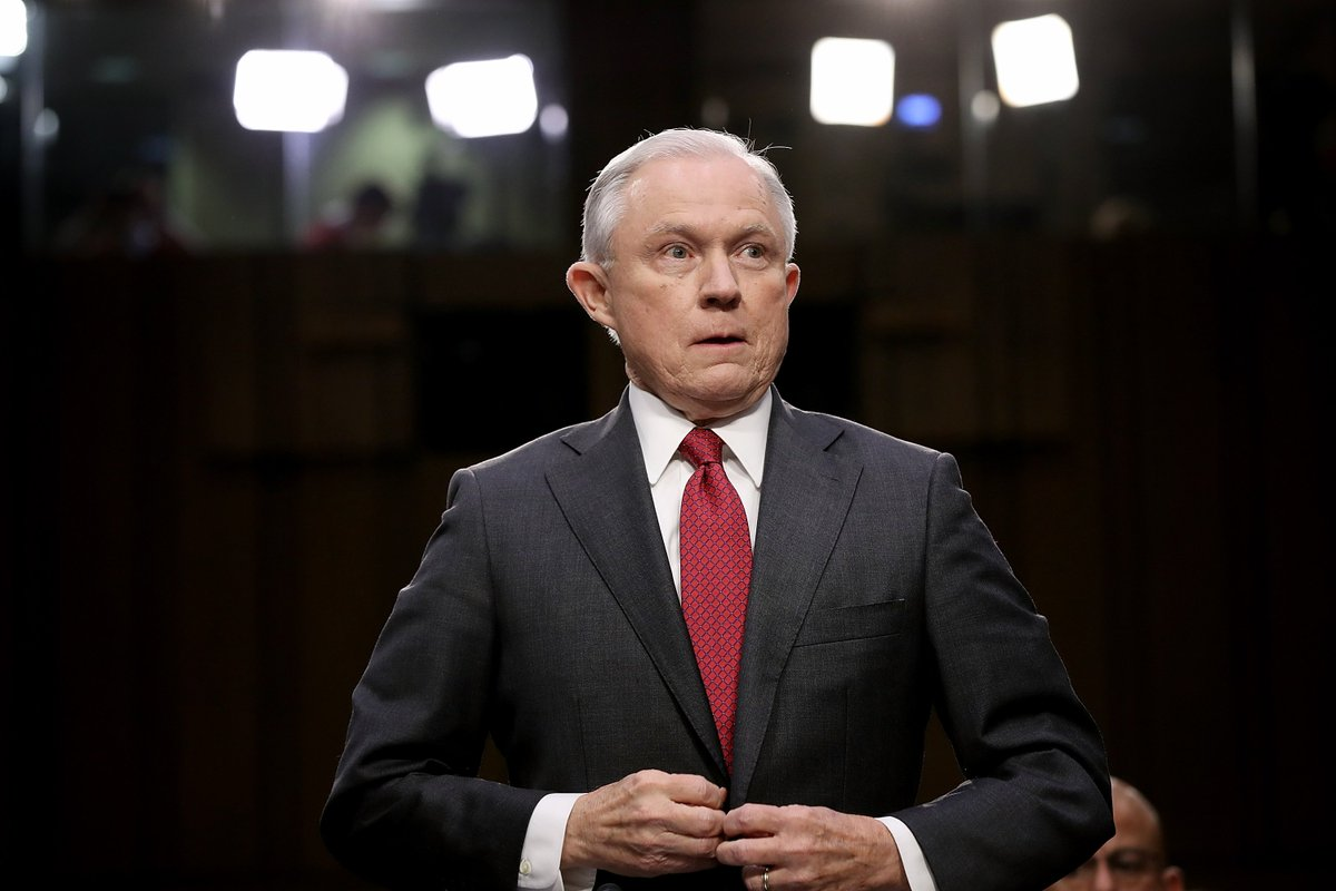 The president is urging Attorney General Jeff Sessions to invesigate Clinton