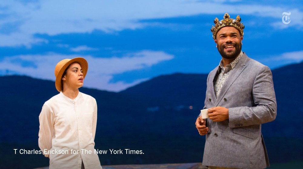 Experience Shakespeare the way the Bard intended — in the great outdoors. Our #Daily360