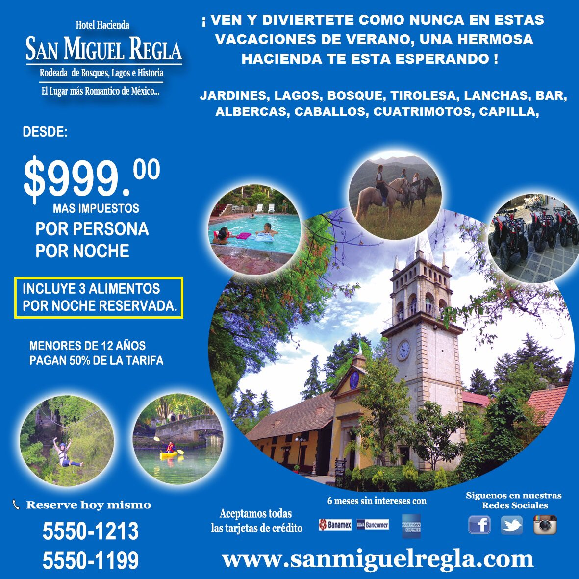 #PuesNadaComo aprovechar nuestra increíble promoción y disfrutar unas inolvidables vacaciones de verano!! #ViveSMR https://t.co/unleCM56Jg