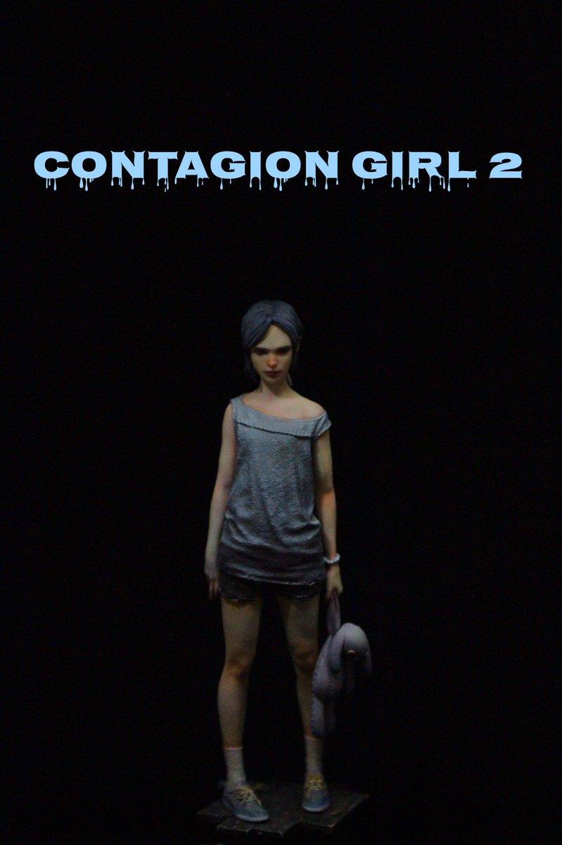 ワンフェスの新作、contagion girlのリメイク!『contagion girl 2』です!ギリギリですが幾つか