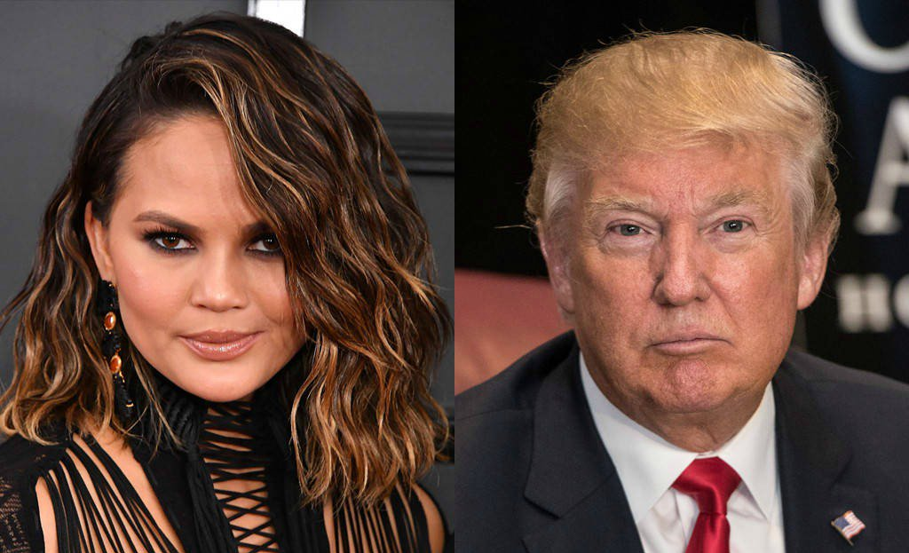 Here's what caused Donald Trump to finally block Chrissy Teigen on Twitter: