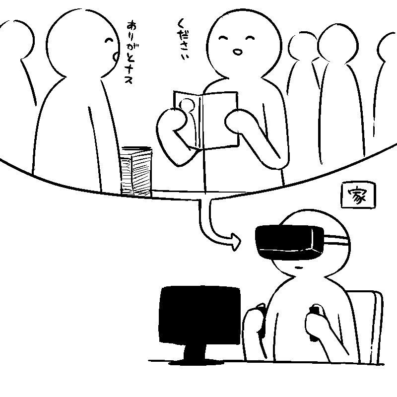 未来のコミケ