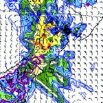 Heavy rain to hit, with snow down to 400m