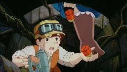 『天空の城ラピュタ』で捕まったドーラが パズーにこっそり武器を渡すシーンちょー好き。 #武器準備映画