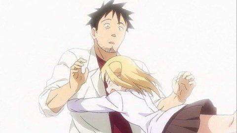 【アニメ感想】亜人ちゃんは語りたい 第4話 JKが教師にハグを求めるアニメ