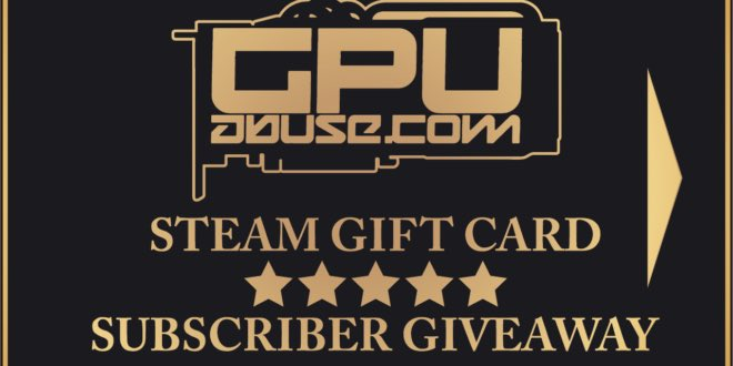 STEAM GIFT CARD GIVEAWAY!