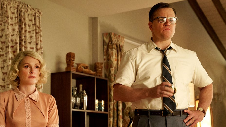 Suburbicon: Matt Damon is not happy in these first-look images