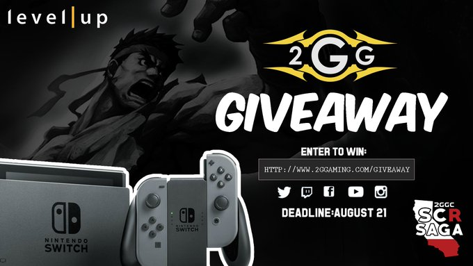 2GGC: SCR Saga Nintendo Switch Giveaway