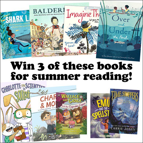 #WIN a Summer Reading Package [8/04]