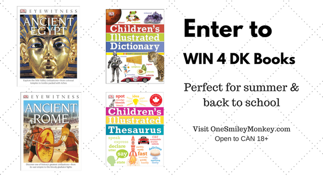 #WIN 5 DK books for the summer [8/10]