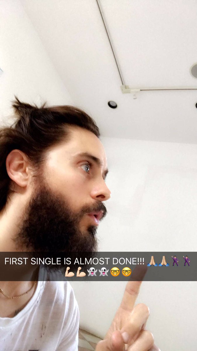 FIRST NEW @30SECONDSTOMARS SINGLE IS ALMOST DONE!!! https://t.co/zUaqV8XB0L