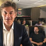 Dr. Oz Went on Turkish Airlines to Talk About Staying Healthy While Flying