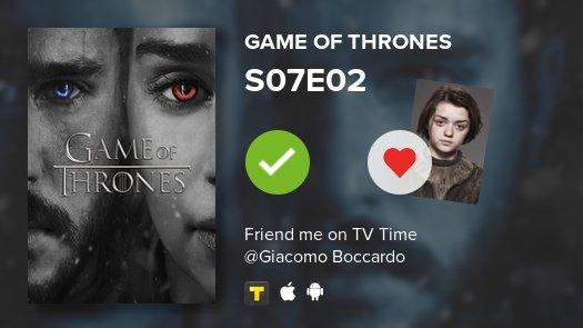 test Twitter Media - I've just watched episode S07E02 of Game of Thrones! #GoT  https://t.co/WCU9wVemjj #tvtime https://t.co/lKTwfOExrf