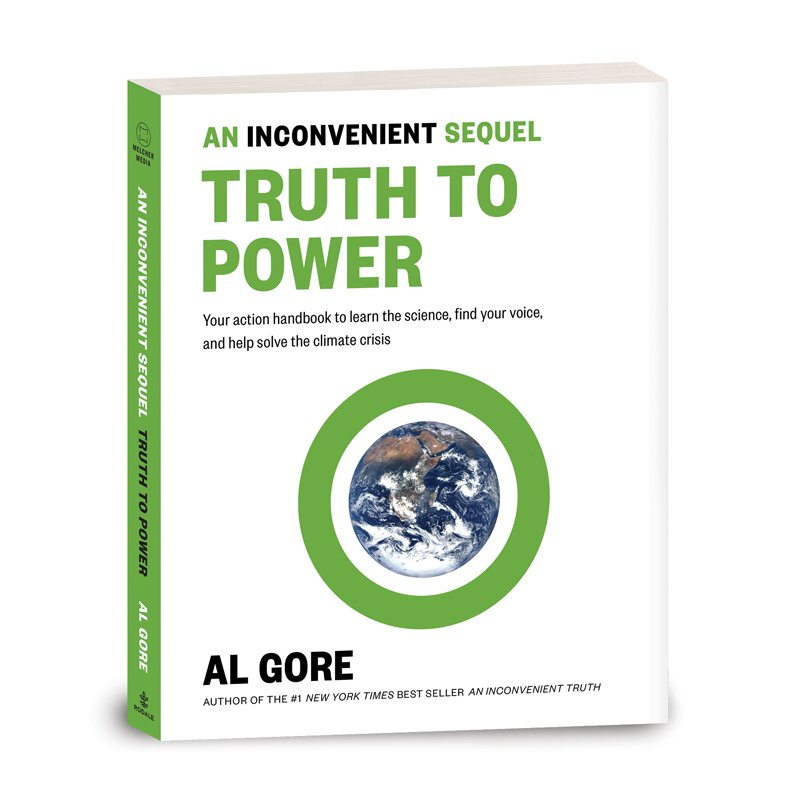 The An Inconvenient Sequel: Truth To Power book is in stores today! #BeInconvenient https://t.co/lgOIDrDvpm https://t.co/i0yoExHrJd