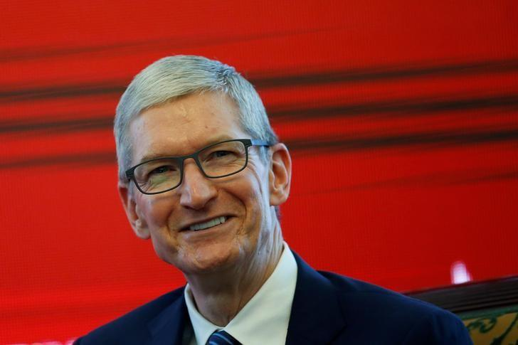 Apple CEO promised to build 3 'big' plants in U.S., Trump tells WSJ