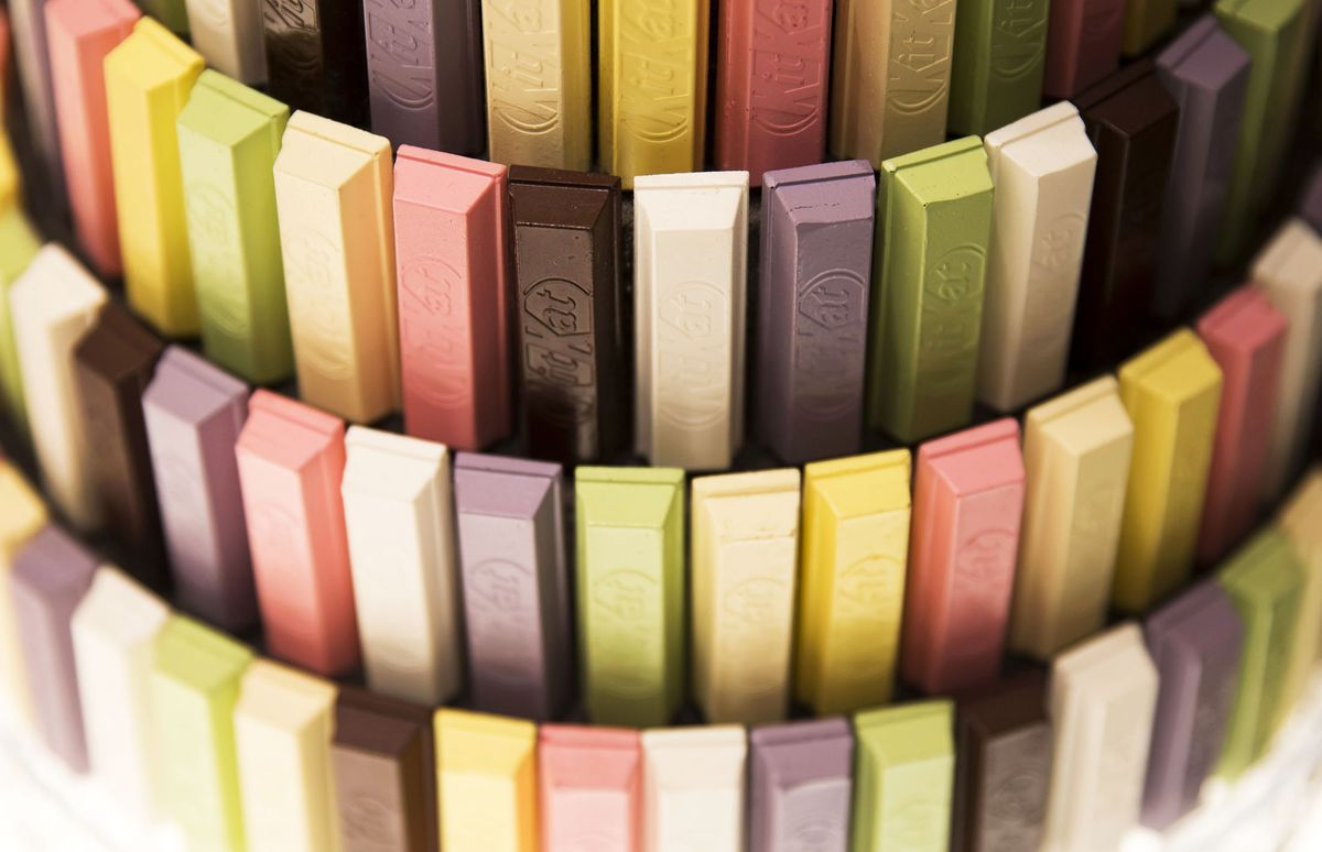 Exotic Kit Kat flavors are so popular that Nestle's building a factory for them