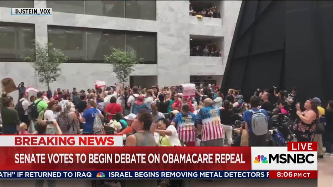 Maddow Democrats fight for time on GOP health bill