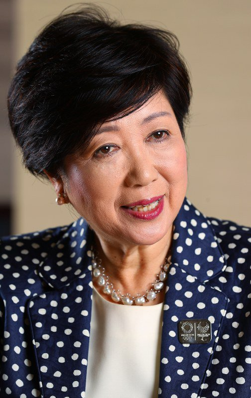 Olympic torch may travel to Tokyo's outlying islands: Gov. Koike