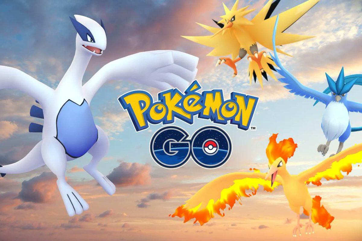 tweet-#PokemonGO: Articuno is catchable until July 31, Moltres from July 31 to August 7, and Zapdos from August 7 to 14. Lugia's end date unknown. https://t.co/KBDFHKn5ID