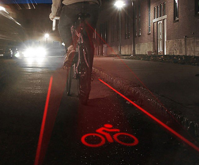 Laser Cycle Lane https://t.co/WQTouYXmBn £29.99 #cycling #biketoworkday #cyclingquotes Why is this not mandatory? https://t.co/xmbrmXZx9U