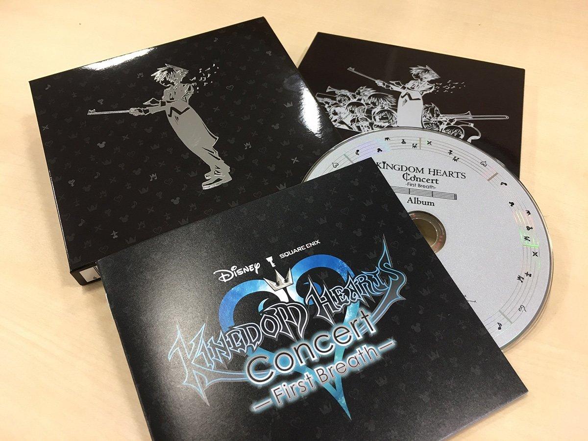 KHシリーズ初の吹奏楽アレンジCD『キングダム ハーツ コンサート -ファーストブレス- アルバム』が本日7/26に発売