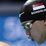 Schooling misses out on 100m freestyle semis at FINA World Championships