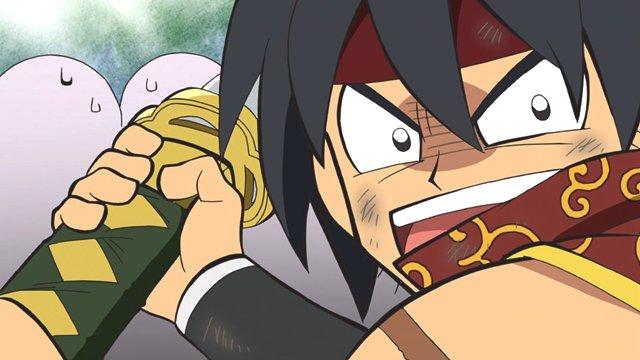 【ニュース】TVアニメ『信長の忍び~伊勢・金ヶ崎篇~』第43話より先行場面カット到着! 怒った真柄直隆は、通称「太郎太刀