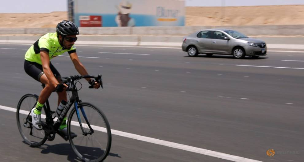 Egyptian endurance athlete sets new goals after cycling record