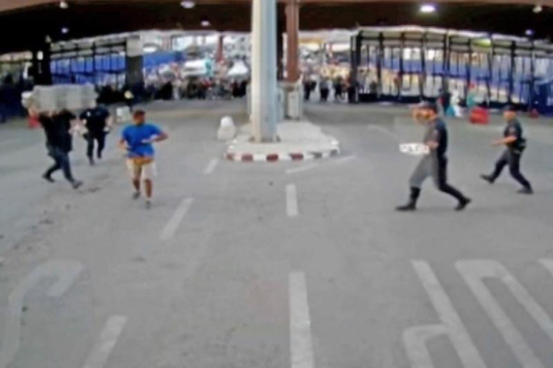 Spain knifeman remanded in custody after border incident