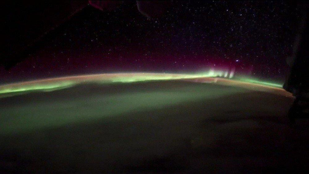 Astronauta registra visão impressionante de aurora boreal da Estação Espacial #G1