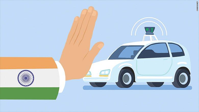 India's transport chief: Driverless cars will kill jobs