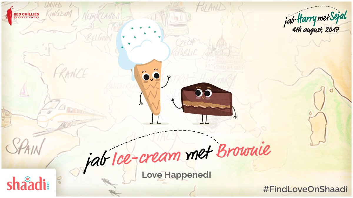 test Twitter Media - Tag that special someone who is the Brownie to your Ice-cream! 😊 #FindLoveOnShaadi #JHMS @iamsrk @AnushkaSharma @RedChilliesEnt https://t.co/Z2xxpXwa88