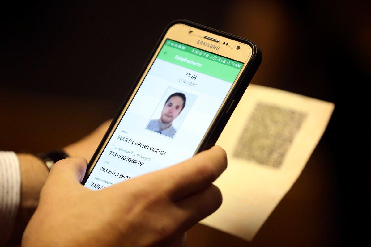 Carteira de habilitação eletrônica é aprovada pelo Contran