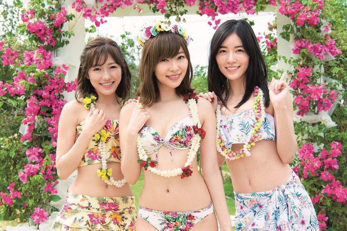 "【AKB48】『水着サプライズ』指原莉乃・渡辺麻友・松井珠理奈ら""神7""水着ショット!「AKB48選抜総選挙」ランクイン80人全員集結"