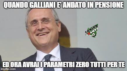 #Galliani