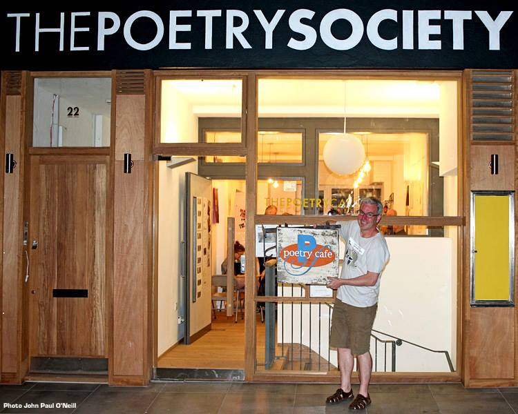test Twitter Media - Before the old Poetry Cafe sign was sold for £1000 to a Miss Terry Byer we gave it one last outing in the fresh air...  👋😢 https://t.co/sHsU5hbHcy