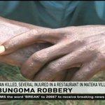 Man killed, several injured in a restaurant in Mateka Village, Bumula