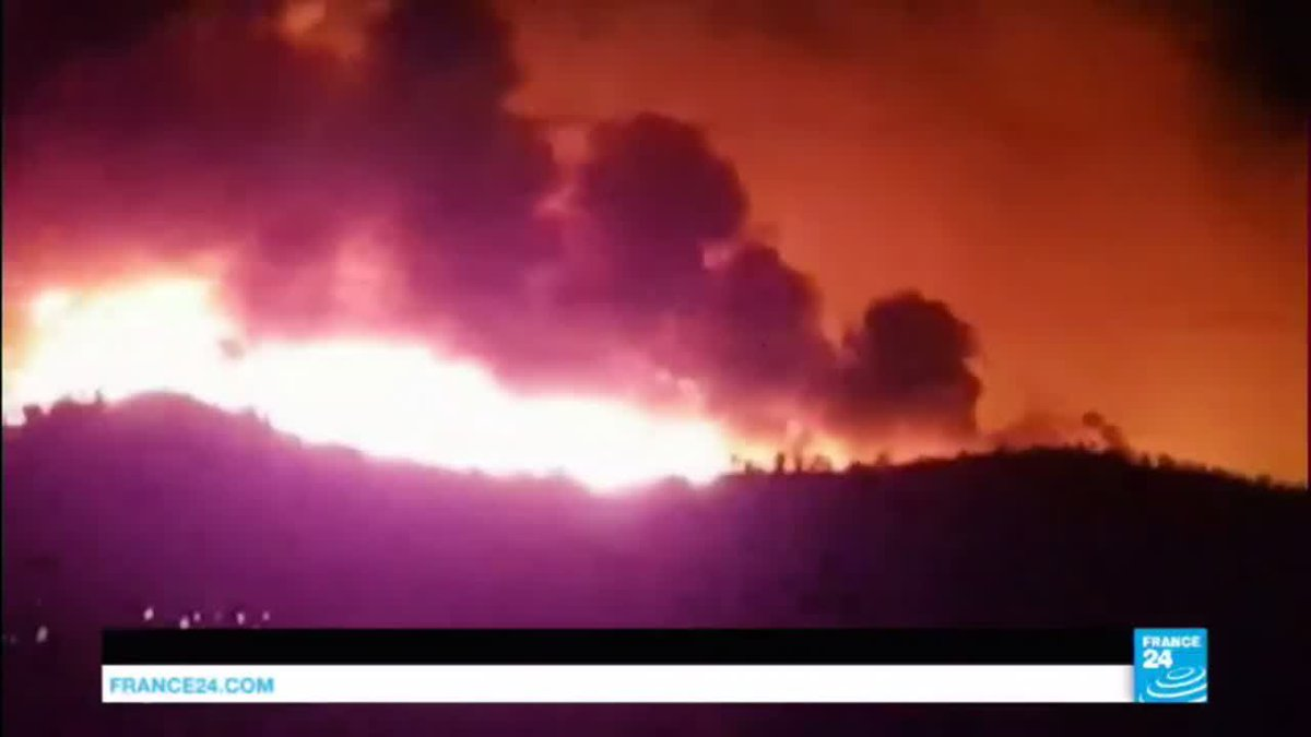 ?? France: Blaze forces evacuation of at least 10.000