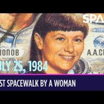 Today in Space – July 25: First Spacewalk by a Woman