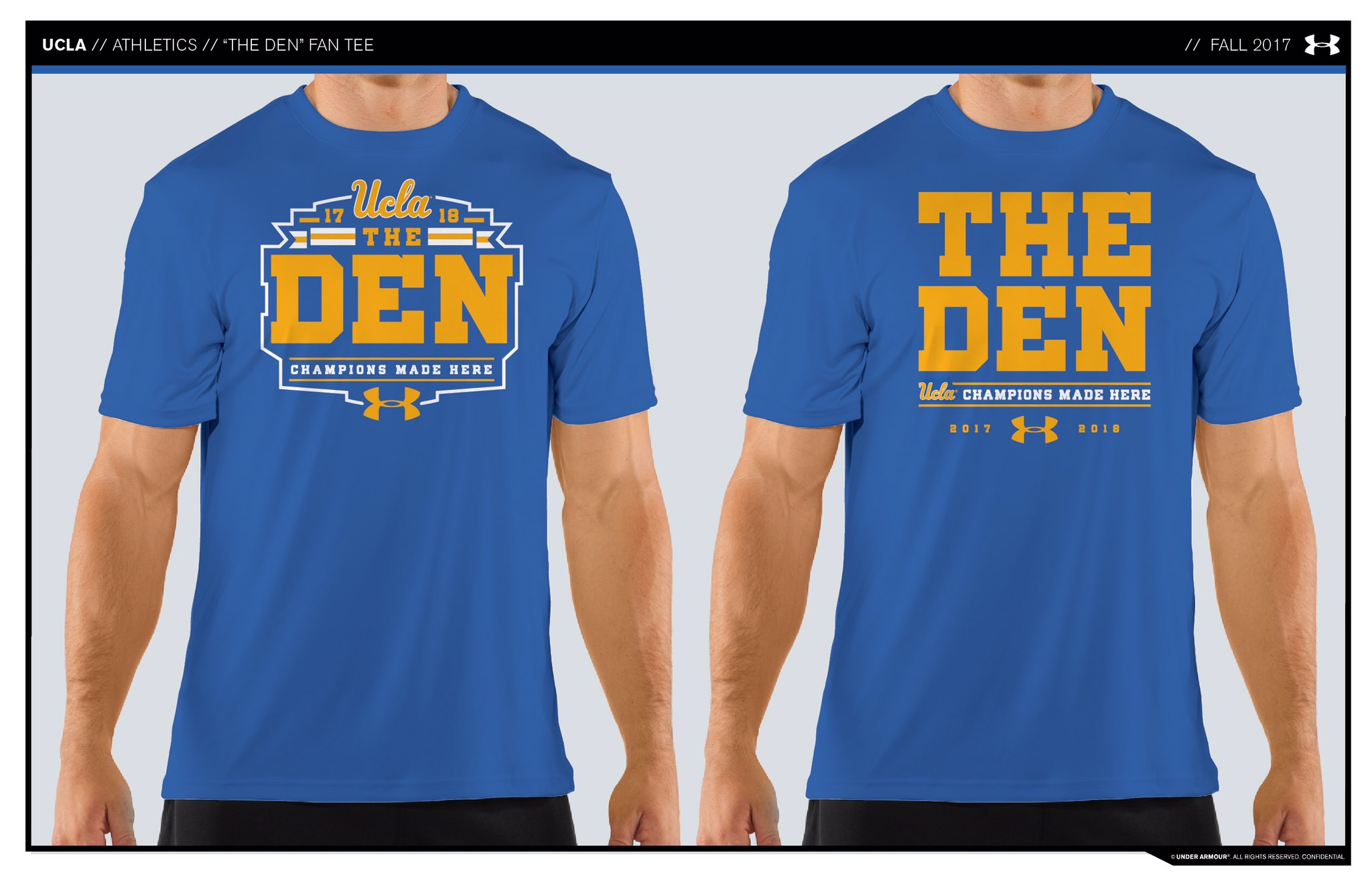 @UnderArmour DEN SHIRT DESIGNS ������  Make sure you vote above in the poll for your favorite! https://t.co/6vQlZzk145