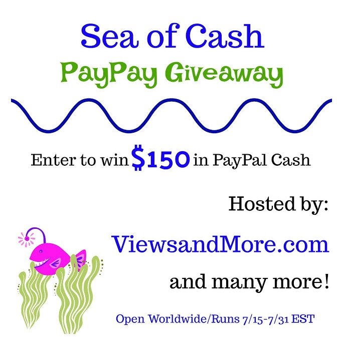 Enter to Win $150 in PayPal Cash Giveaway
