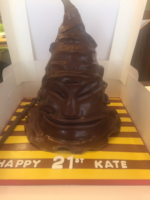 Happy birthday Scarlett! The Harry Potter sorting hat!    # Harry Potter Hat
