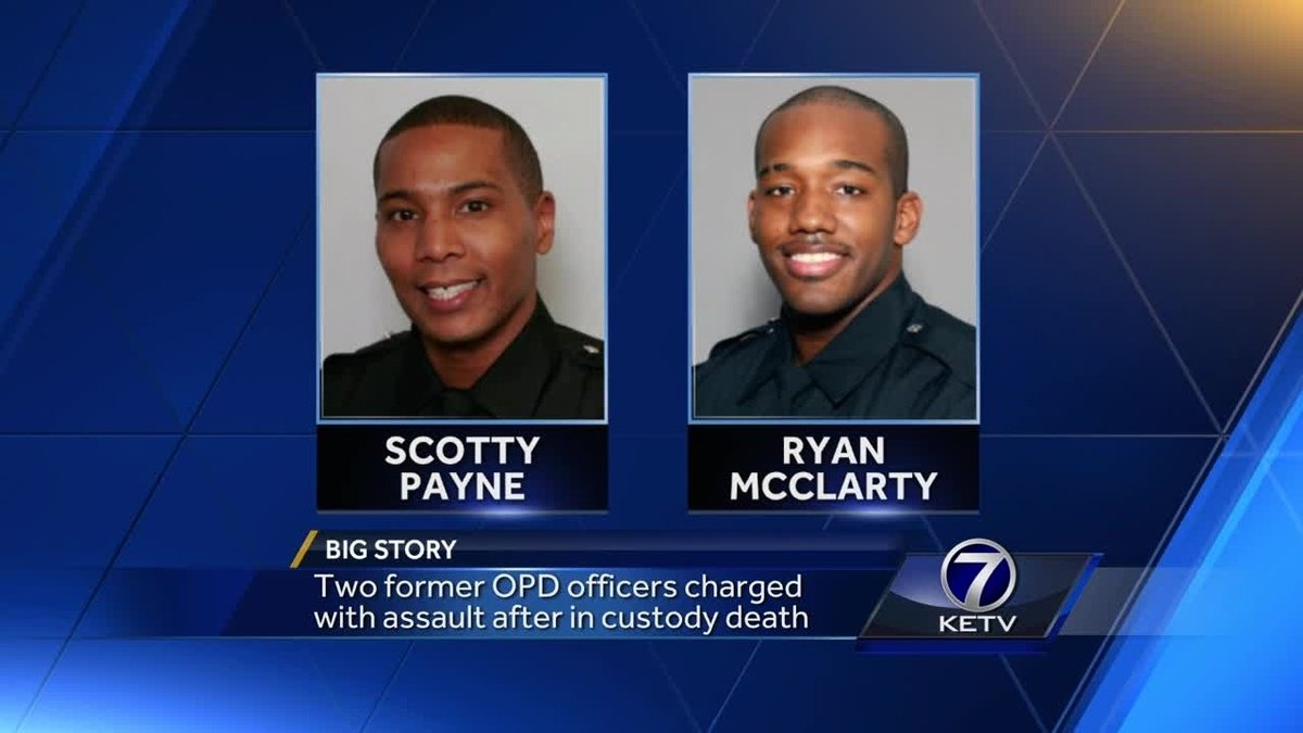 Two former OPD officers charged with assault after in-custody death