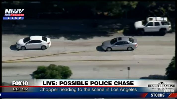 LIVE COVERAGE: Police pursuit in Los Angeles bit ly/2tZVxAw https