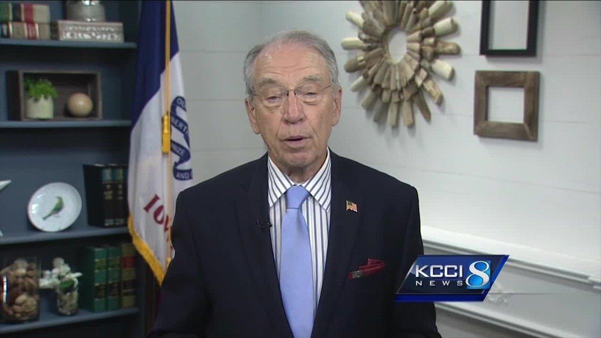 Sen. Grassley talks health care proposals, Russia probe