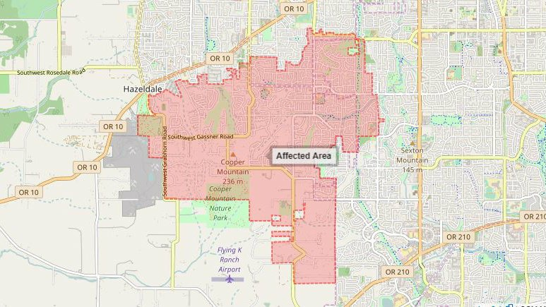 Boil water notice for some Tualatin Valley Water District customers